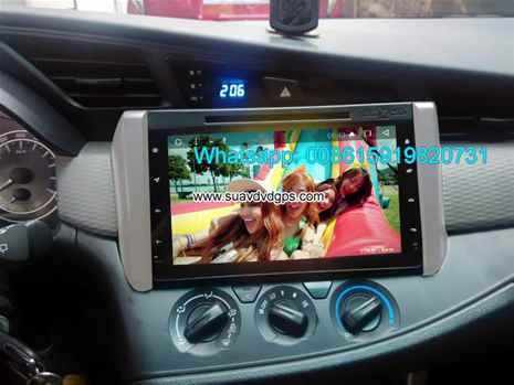 Toyota Innova audio radio Car DVD android wifi GPS camera