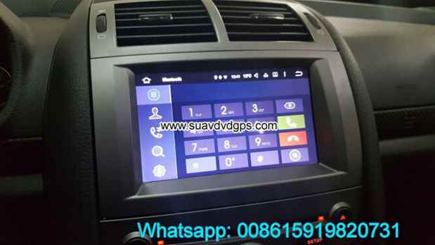 Peugeot 407 Android Car Radio GPS WIFI DVD player camera